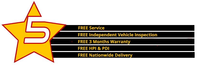 5 Star Service Package